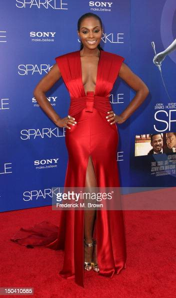 Actress Tika Sumpter attends the Premiere Of TriStar Pictures' 'Sparkle' at Grauman's Chinese Theatre on August 16 2012 in Hollywood California