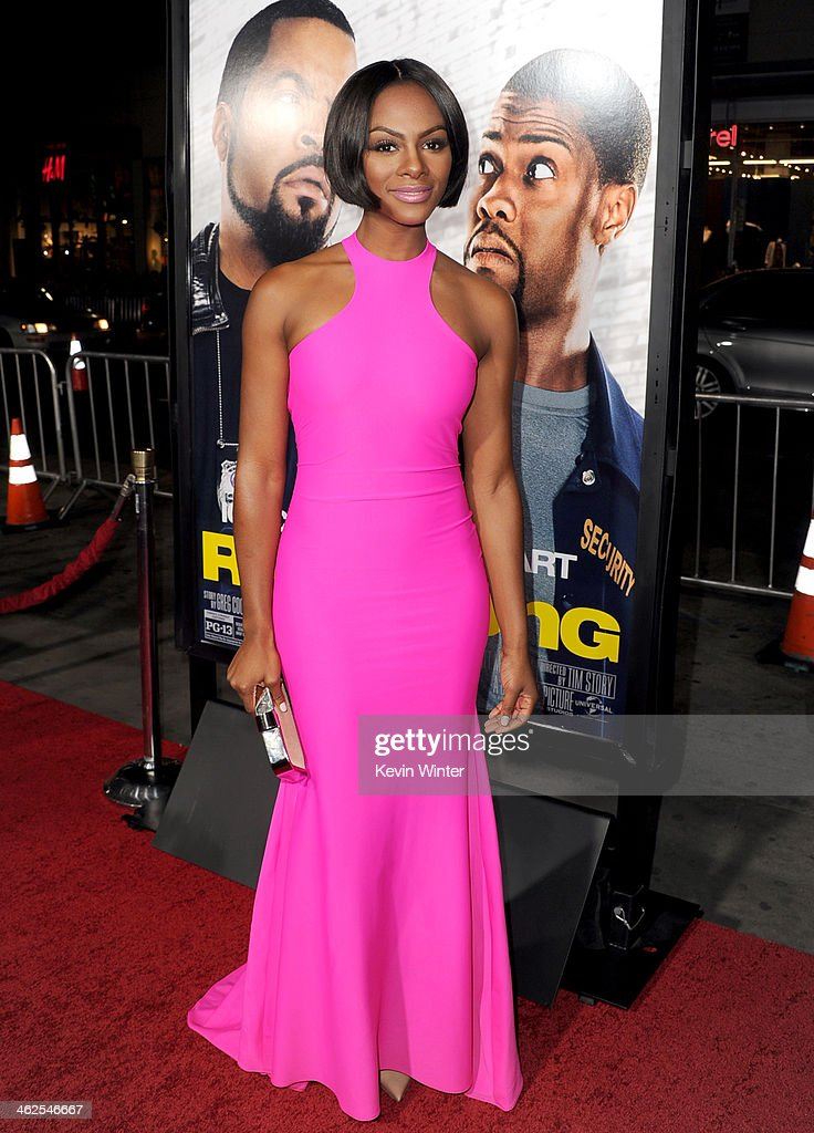 Actress <a gi-track='captionPersonalityLinkClicked' href=/galleries/search?phrase=Tika+Sumpter&family=editorial&specificpeople=4168370 ng-click='$event.stopPropagation()'>Tika Sumpter</a> attends the Premiere Of Universal Pictures' 'Ride Along' at TCL Chinese Theatre on January 13, 2014 in Hollywood, California.