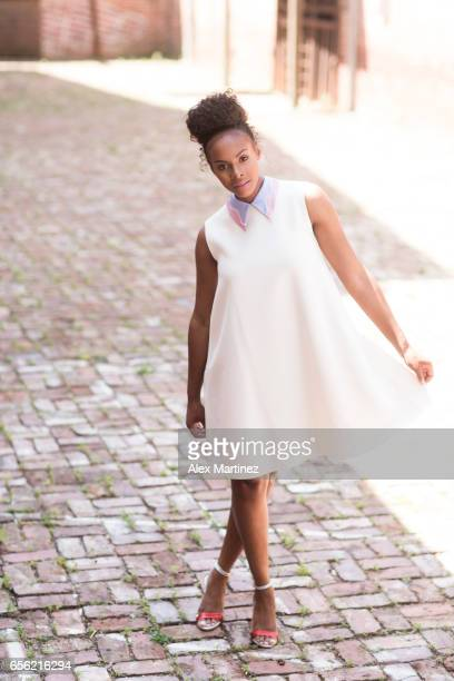 Actress Tika Sumpter is photographed for Rhapsody Magazine on May 24 2016 in Atlanta Georgia