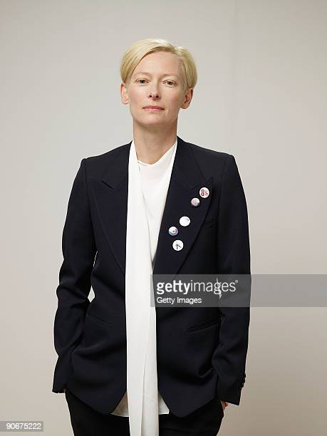Actress Tilda Swinton from the film 'Io Sono L'Amore I Am Love' poses for a portrait during the 2009 Toronto International Film Festival at The...