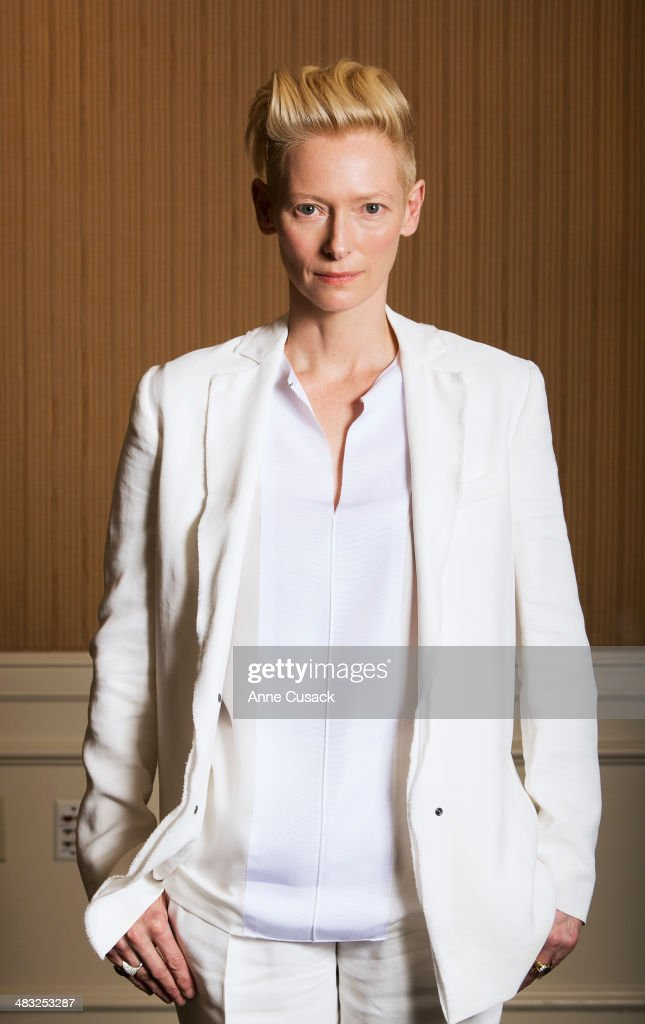 Actress <a gi-track='captionPersonalityLinkClicked' href=/galleries/search?phrase=Tilda+Swinton&family=editorial&specificpeople=202991 ng-click='$event.stopPropagation()'>Tilda Swinton</a> is photographed for Los Angeles Times on March 10, 2014 in Los Angeles, California. PUBLISHED IMAGE.