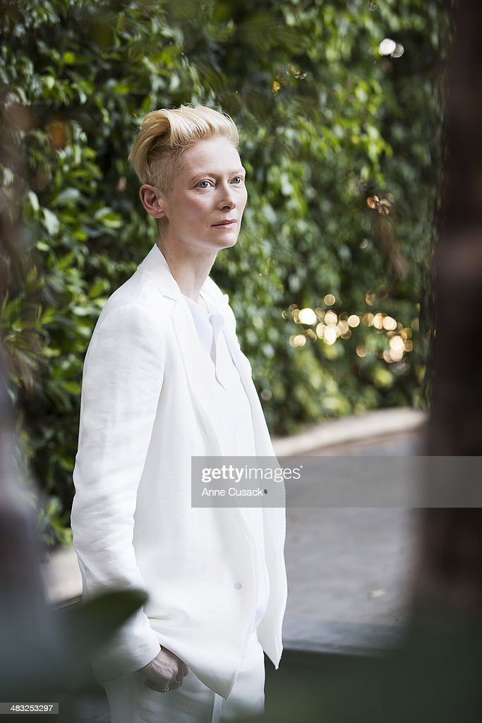Actress Tilda Swinton is photographed for Los Angeles Times on March 10, 2014 in Los Angeles, California. PUBLISHED IMAGE.