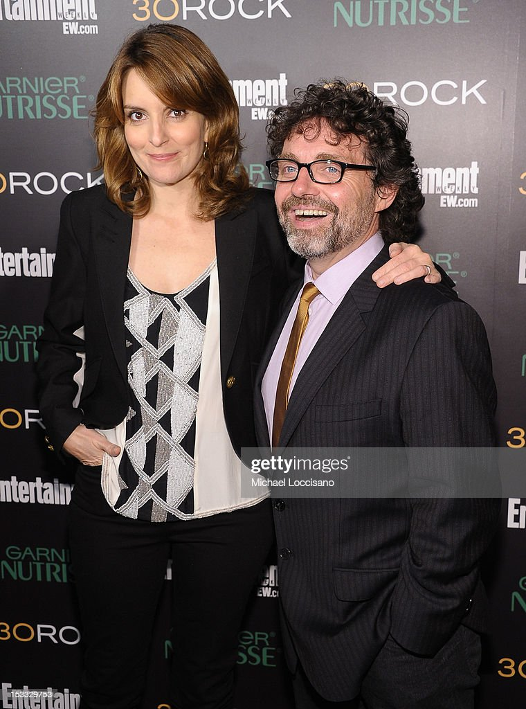 Actress Tina Fey and Jeff Richmond attend Entertainment Weekly and NBC's celebration of the final season of 30 Rock sponsored by Garnier Nutrisse on October 3, 2012 in New York City.