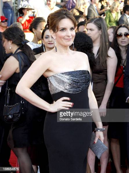 Actress Tina Fey arrives at the 18th Annual Screen Actors Guild Awards held at The Shrine Auditorium on January 29 2012 in Los Angeles California