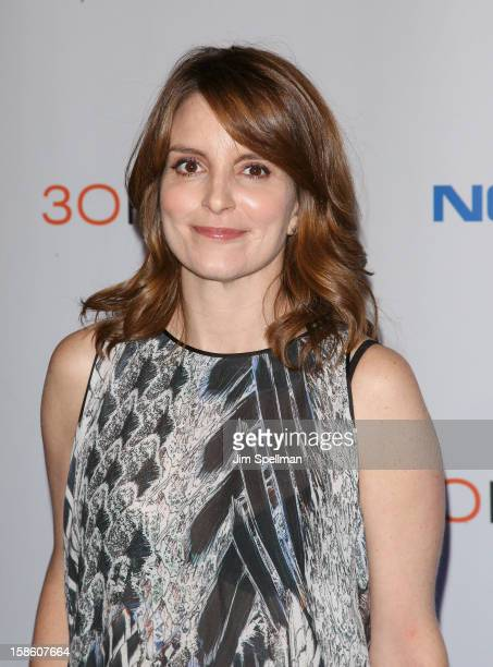 Actress Tina Fey attends '30 Rock' Series Finale Wrap Party at Capitale on December 20 2012 in New York City