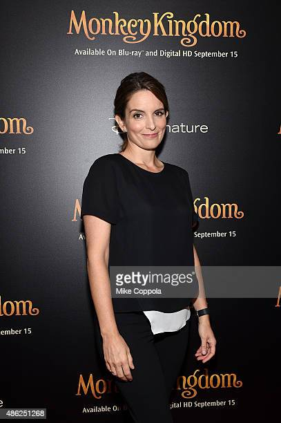 Actress Tina Fey attends Disneynature's Monkey Kingdom special screening celebrating the film's September15th Bluray / Digital HD release on...