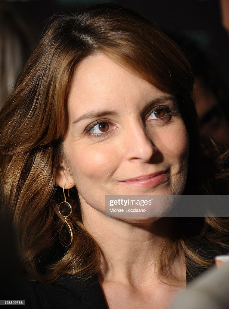 Actress Tina Fey attends Entertainment Weekly and NBC's celebration of the final season of 30 Rock sponsored by Garnier Nutrisse on October 3, 2012 in New York City.