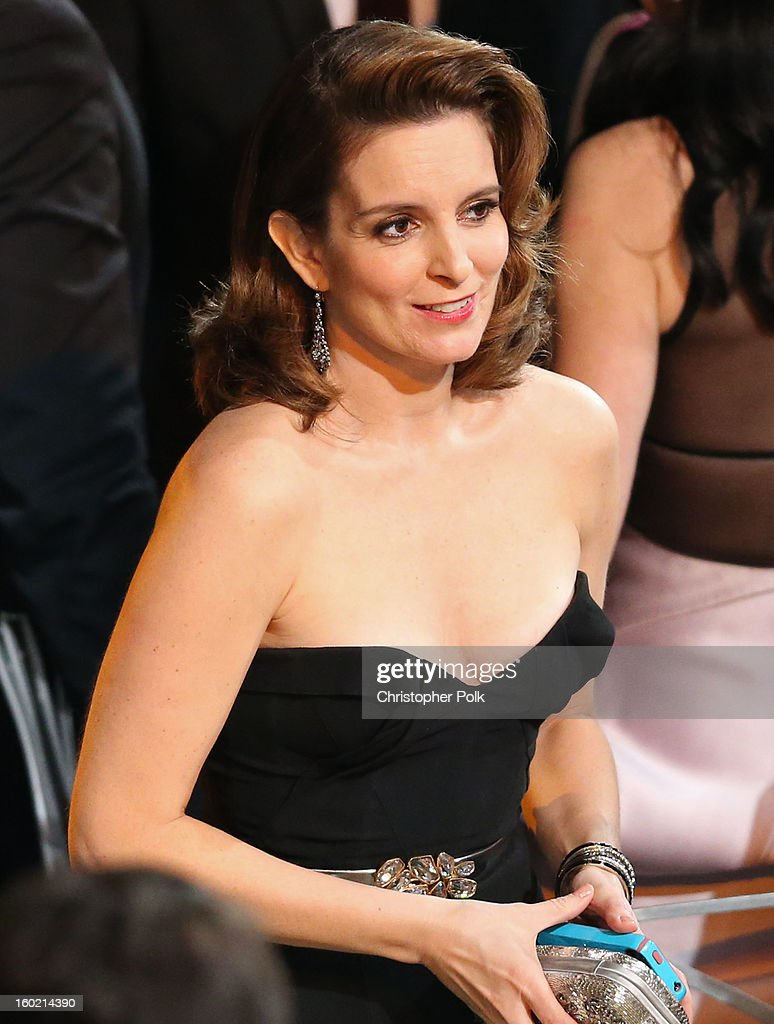 Actress Tina Fey attends the 19th Annual Screen Actors Guild Awards at The Shrine Auditorium on January 27, 2013 in Los Angeles, California. (Photo by Christopher Polk/WireImage) 23116_012_2229.jpg