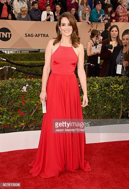 Actress Tina Fey attends The 22nd Annual Screen Actors Guild Awards at The Shrine Auditorium on January 30 2016 in Los Angeles California 25650_015