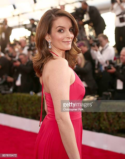 Actress Tina Fey attends The 22nd Annual Screen Actors Guild Awards at The Shrine Auditorium on January 30 2016 in Los Angeles California 25650_018