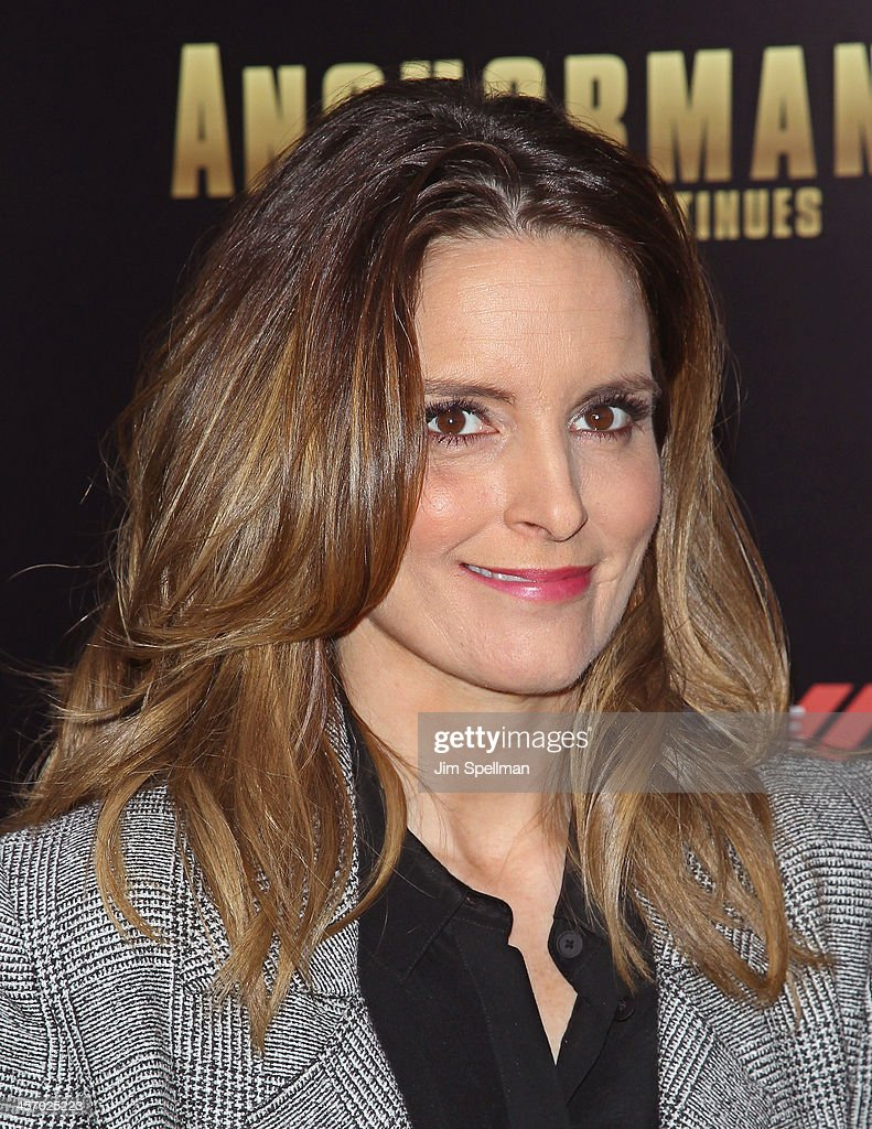 Actress <a gi-track='captionPersonalityLinkClicked' href=/galleries/search?phrase=Tina+Fey&family=editorial&specificpeople=206753 ng-click='$event.stopPropagation()'>Tina Fey</a> attends the 'Anchorman 2: The Legend Continues' U.S. premiere at Beacon Theatre on December 15, 2013 in New York City.
