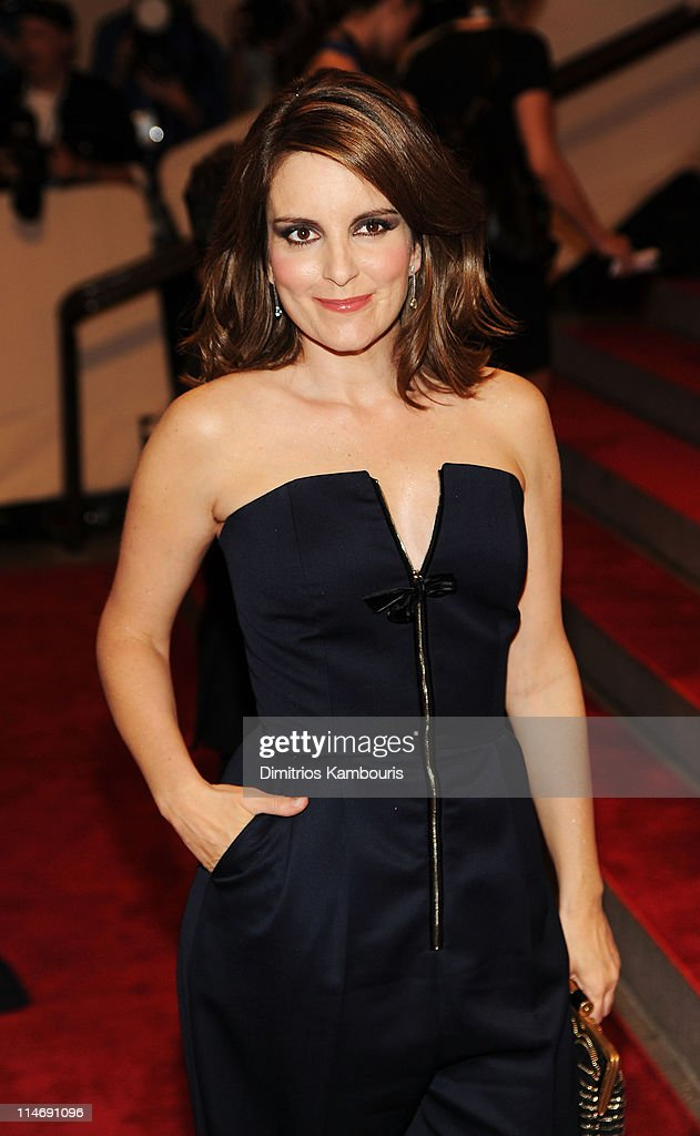 Actress <a gi-track='captionPersonalityLinkClicked' href=/galleries/search?phrase=Tina+Fey&family=editorial&specificpeople=206753 ng-click='$event.stopPropagation()'>Tina Fey</a> attends the Costume Institute Gala Benefit to celebrate the opening of the 'American Woman: Fashioning a National Identity' exhibition at The Metropolitan Museum of Art on May 3, 2010 in New York City.