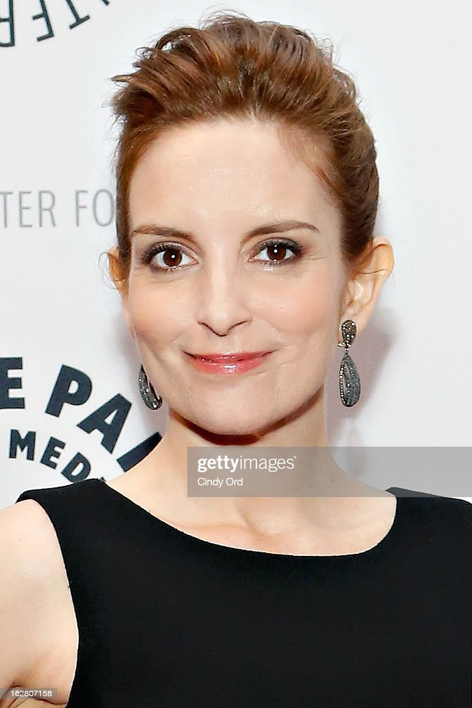 Actress Tina Fey attends The Paley Center for Media Presents: 'Hey Dummies: An Evening With The 30 Rock Writers' at The Paley Center for Media on February 27, 2013 in New York City.