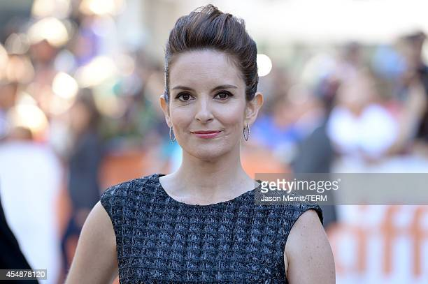 Actress Tina Fey attends the 'This Is Where I Leave You' premiere during the 2014 Toronto International Film Festival at Roy Thomson Hall on...