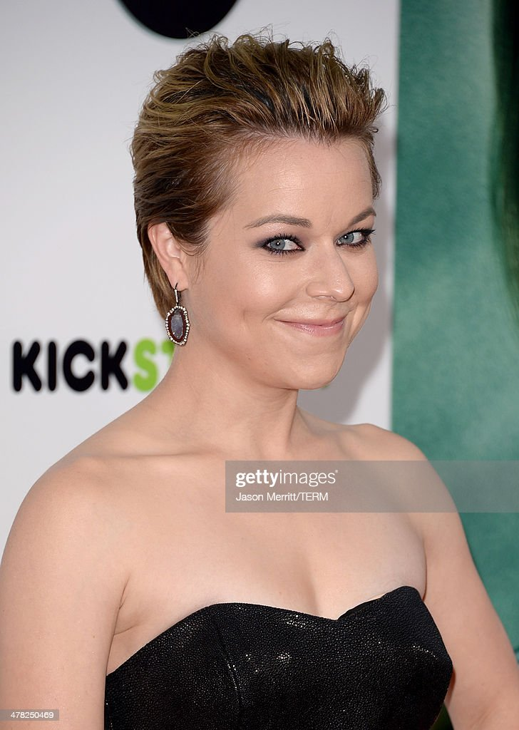 Actress Tina Majorino arrives at the Los Angeles premiere of 'Veronica Mars' at TCL Chinese Theatre on March 12, 2014 in Hollywood, California.