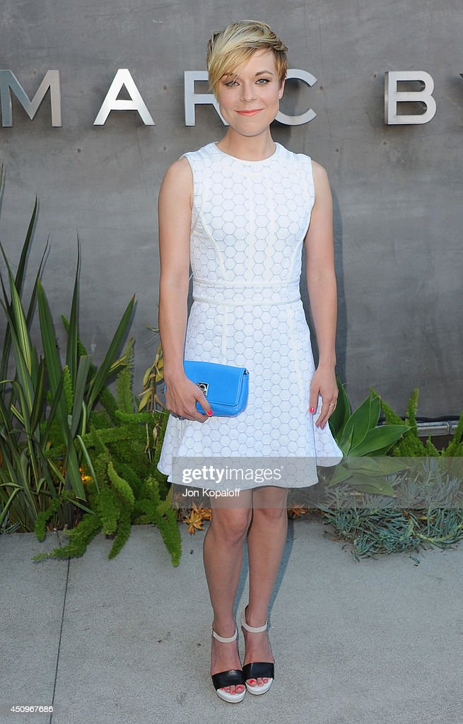 Actress Tina Majorino attends Marc By Marc Jacobs Fall/Winter 2014 Preview at Marc Jacobs on June 20 2014 in Los Angeles California