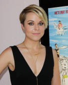 Actress Tina Majorino attends 'Napoleon Dynamite' 10 sweet years BluRay/DVD release and statue dedication at The Fox Studio Lot on June 9 2014 in...