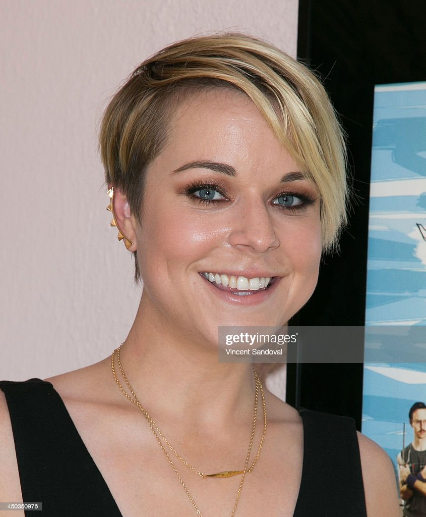 Actress Tina Majorino attends the 10 sweet years edition BluRay/DVD release and statue dedication of 'Napoleon Dynamite' at Fox Studio Lot on June 9...