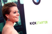 Actress Tina Majorino attends the 'Veronica Mars' Los Angeles premiere held at the TCL Chinese Theatre on March 12 2014 in Hollywood California