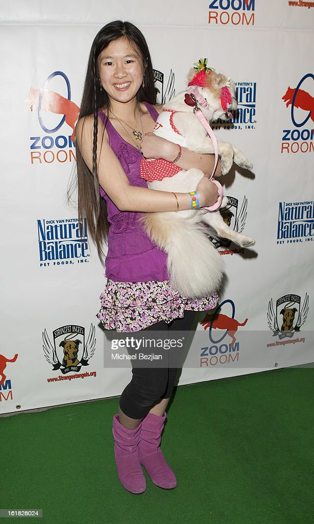 Actress Tina Q. Nguyen attends Hooray for Hollywoof! Grand Opening and Launch Party for Zoom Room at Zoom Room on February 16, 2013 in Sherman Oaks, California.