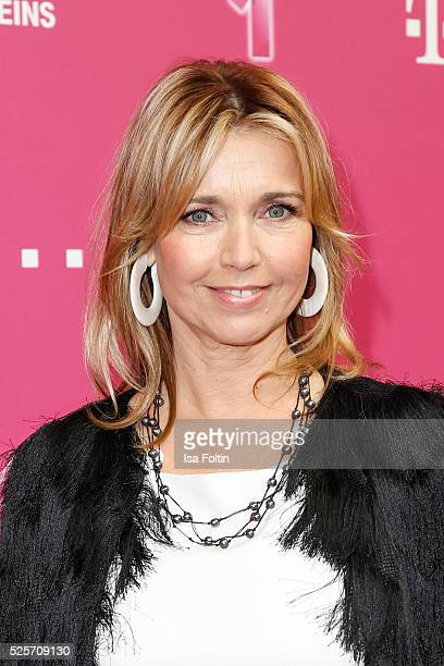 Actress Tina Ruland attends the Telekom Entertain TV Night at Hotel Zoo on April 28 2016 in Berlin Germany
