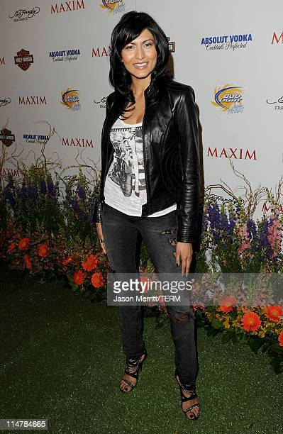 Actress Tinsel Korey arrives at the 11th annual Maxim Hot 100 Party with HarleyDavidson ABSOLUT VODKA Ed Hardy Fragrances and ROGAINE held at...