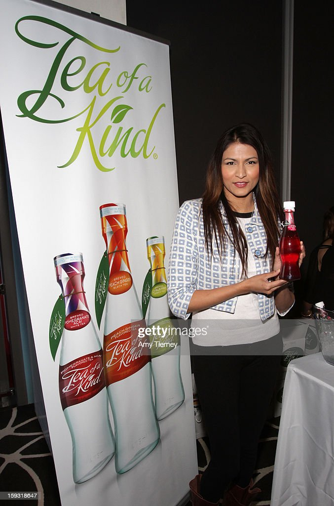 Actress Tinsel Korey attends Kari Feinstein's Pre-Golden Globes Style Lounge at the W Hollywood on January 11, 2013 in Hollywood, California.