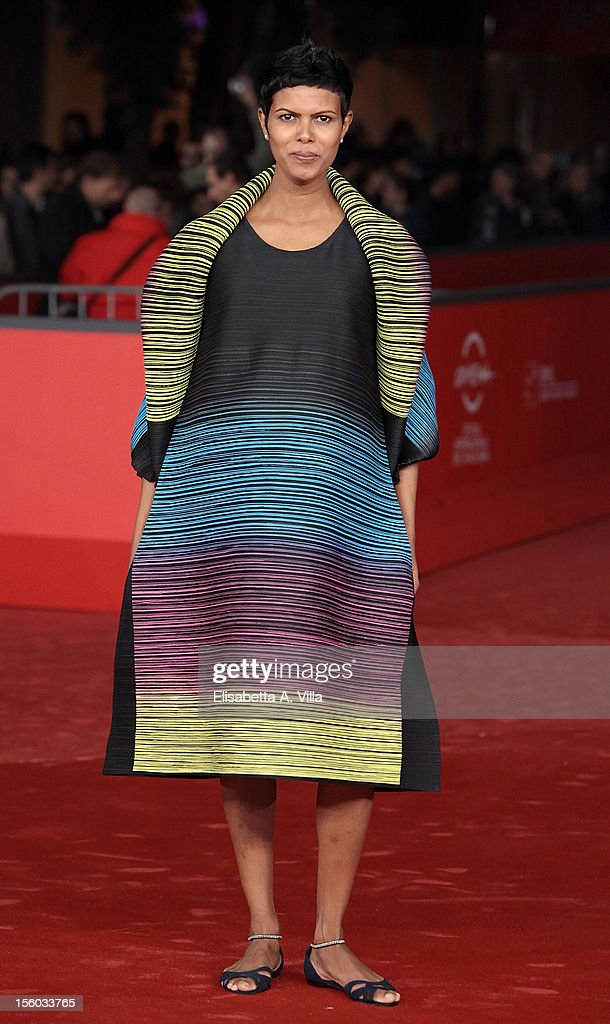 Actress Tinu Verghis attends 'Tasher Desh' Premiere during the 7th Rome Film Festival at Auditorium Parco Della Musica on November 11, 2012 in Rome, Italy.