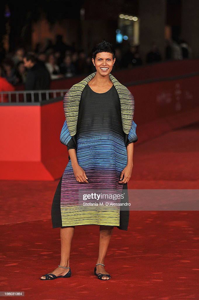 Actress Tinu Verghis attends the ''Tasher Desh' Premiere during the 7th Rome Film Festival at the Auditorium Parco Della Musica on November 11, 2012 in Rome, Italy