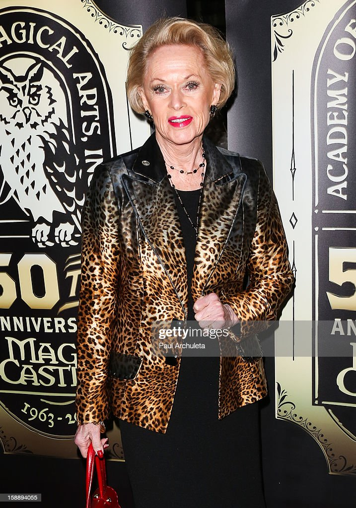 Actress Tippi Hedren attends the Academy Of Magical Arts 50th Anniversary Gala at The Magic Castle on January 2, 2013 in Hollywood, California.