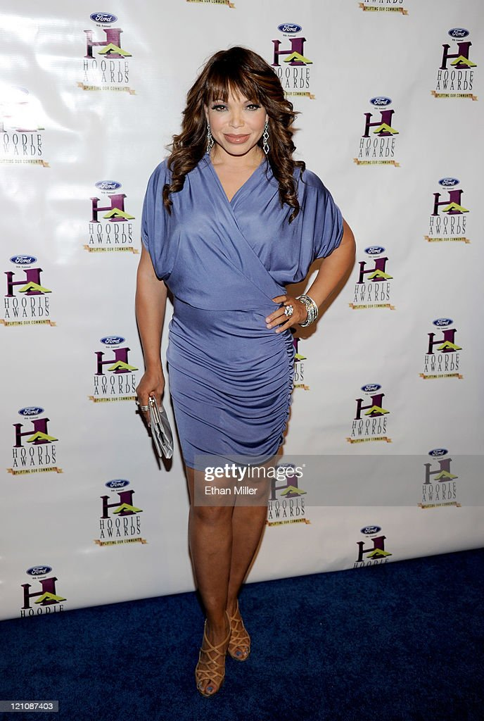 Actress Tisha Campbell-Martin arrives at the ninth annual Ford Hoodie Awards at the Mandalay Bay Events Center August 13, 2011 in Las Vegas, Nevada.