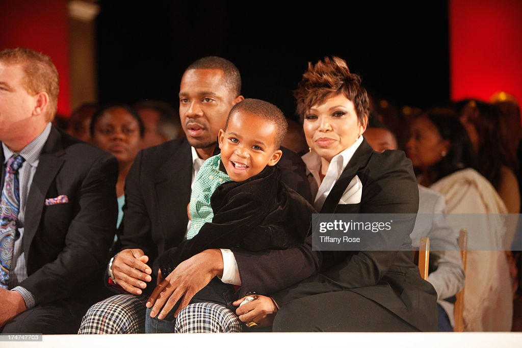 Actress Tisha Campbell-Martin (R) attends the 15th Annual DesignCare benefiting The HollyRod Foundation on July 27, 2013 in Malibu, California.