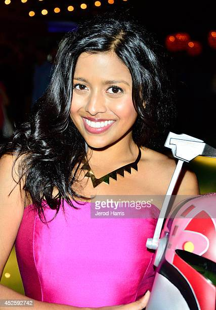 Actress Tiya Sircar attends Hitfix and Lucasfilm's ComicCon Kick off party during ComicCon International 2014 at Hotel Solamar on July 23 2014 in San...