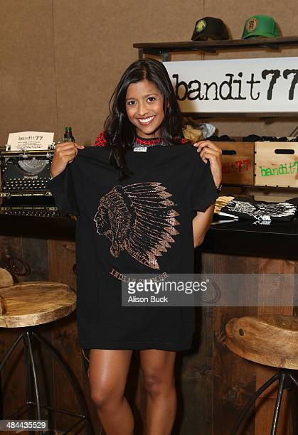 Actress Tiya Sircar attends the Kari Feinstein Music Festival Style Lounge at La Quinta Resort and Club on April 12 2014 in La Quinta California