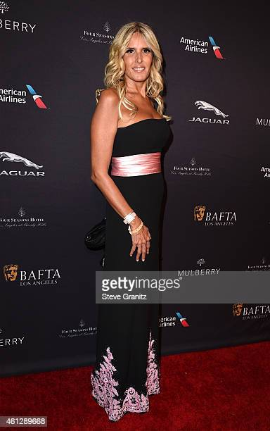 Actress Tiziana Rocca attends the 2015 BAFTA Tea Party at The Four Seasons Hotel on January 10 2015 in Beverly Hills California