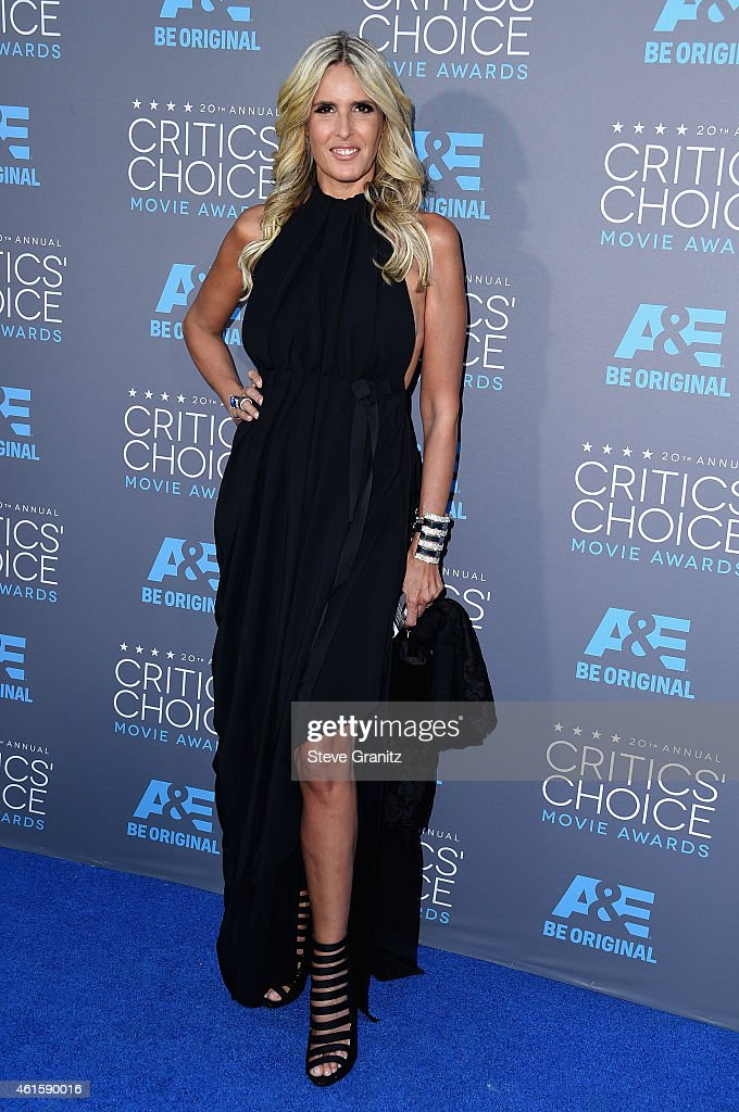 Actress Tiziana Rocca attends the 20th annual Critics' Choice Movie Awards at the Hollywood Palladium on January 15, 2015 in Los Angeles, California.