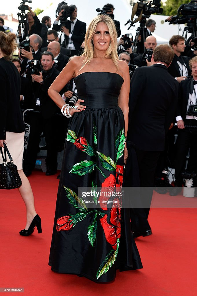Actress Tiziana Rocca attends the opening ceremony and premiere of 'La Tete Haute' ('Standing Tall') during the 68th annual Cannes Film Festival on May 13, 2015 in Cannes, France.
