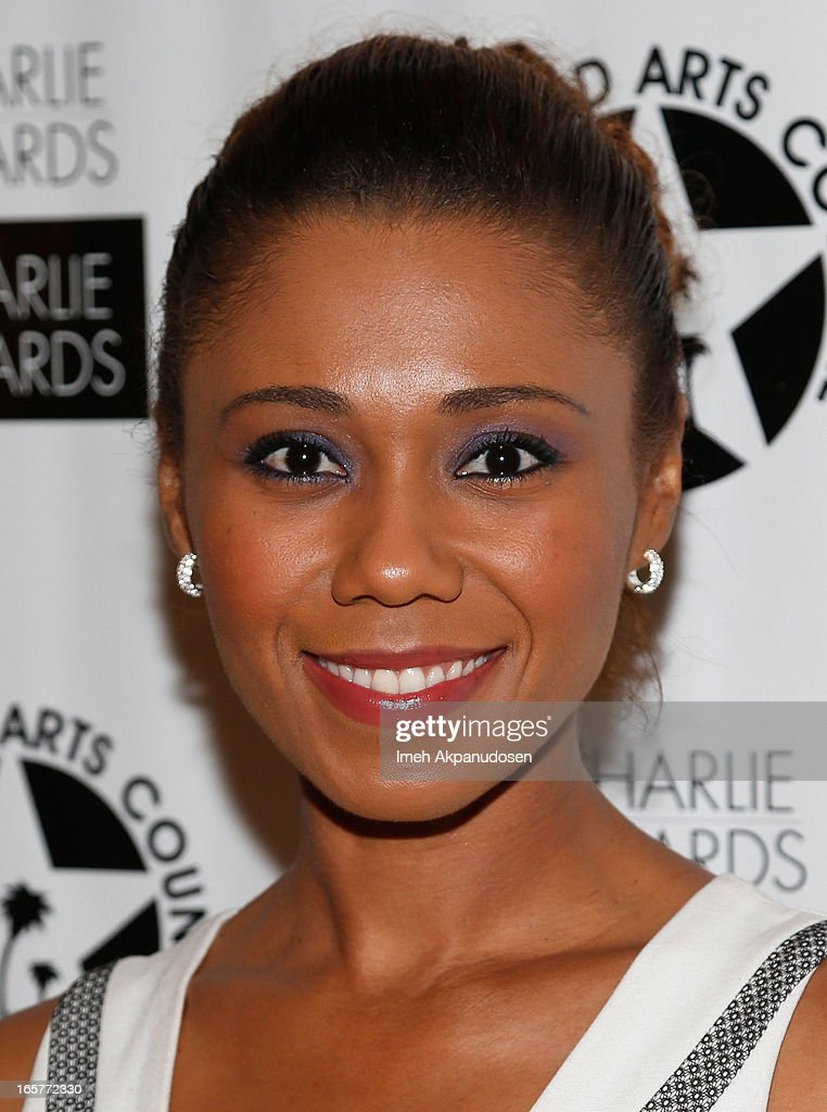 Actress Toks Olagundoye attends Hollywood Arts Council's 27th Annual Charlie Awards Luncheon at Hollywood Roosevelt Hotel on April 5, 2013 in Hollywood, California.