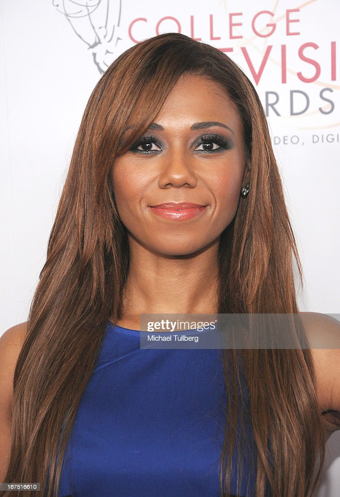 Actress Toks Olagundoye attends the 34th College Television Awards Gala at JW Marriott Los Angeles at L.A. LIVE on April 25, 2013 in Los Angeles, California.