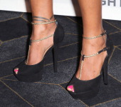 Actress Toks Olagundoye attends the Alliance for Children's Rights 5th Annual Right to Laugh comedy benefit at Avalon on May 29 2014 in Hollywood...