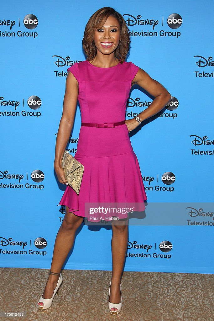 Actress Toks Olagundoye attends the Disney & ABC Television Group's '2013 Summer TCA Tour' at The Beverly Hilton Hotel on August 4, 2013 in Beverly Hills, California.