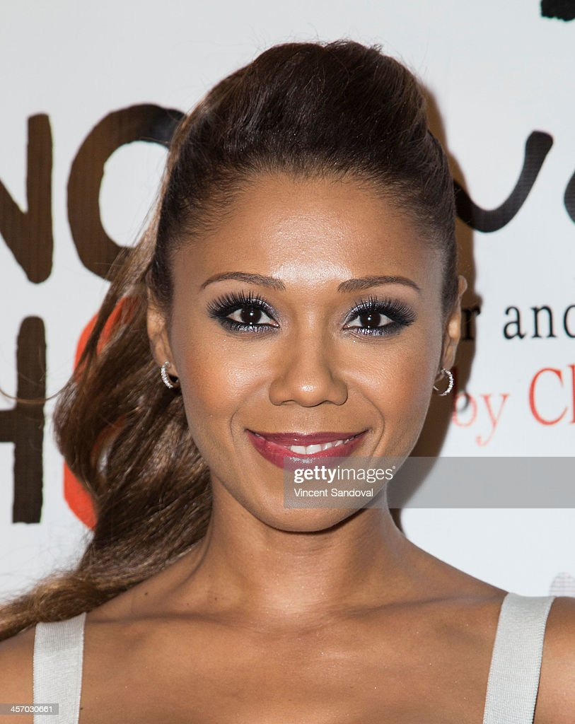 Actress Toks Olagundoye attends the NOH8 Campaign's 5th Annual Anniversary Celebration at Avalon on December 15, 2013 in Hollywood, California.