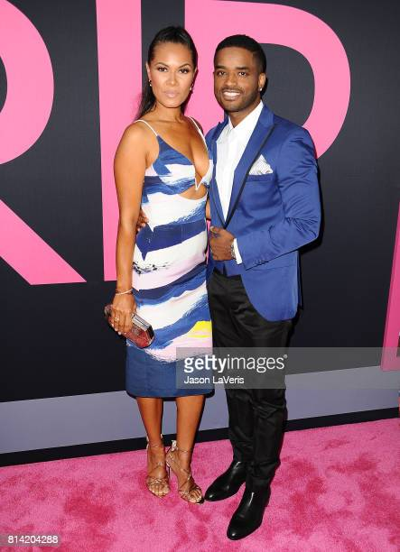 Actress Tomasina Parrott and actor Larenz Tate attend the premiere of 'Girls Trip' at Regal LA Live Stadium 14 on July 13 2017 in Los Angeles...