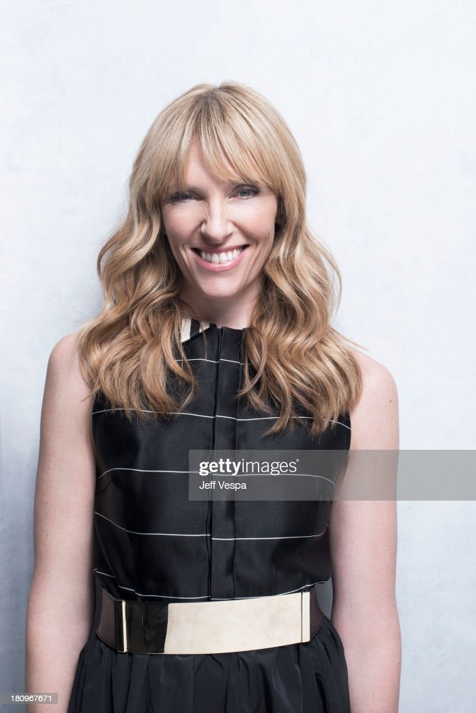 Actress Toni Colette is photographed at the Toronto Film Festival on September 8, 2013 in Toronto, Ontario.