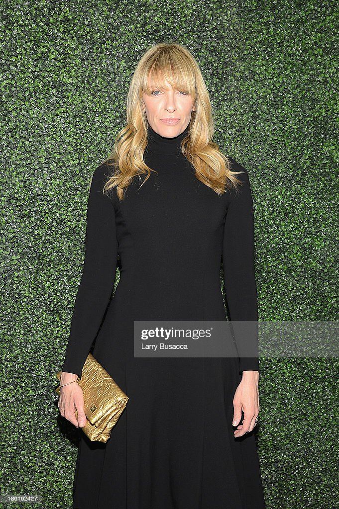 Actress Toni Collette arrives as Ralph Lauren Presents Exclusive Screening Of Hitchcock's To Catch A Thief Celebrating The Princess Grace Foundation at MoMA on October 28, 2013 in New York City.