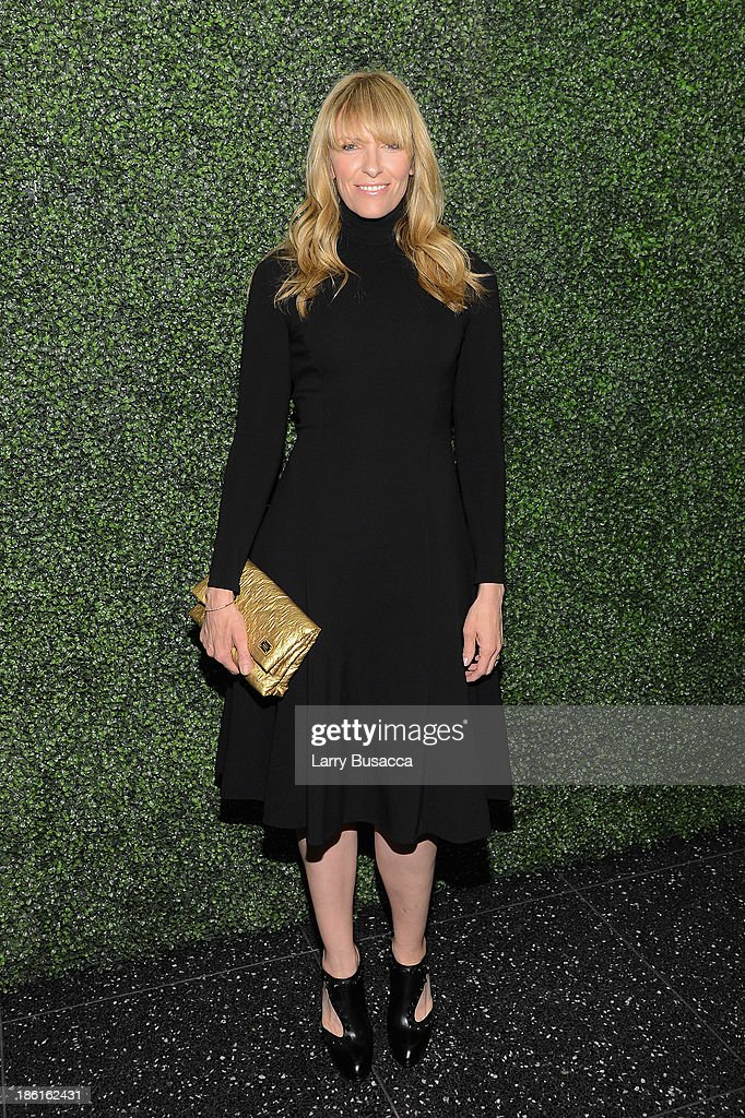 Actress <a gi-track='captionPersonalityLinkClicked' href=/galleries/search?phrase=Toni+Collette&family=editorial&specificpeople=204673 ng-click='$event.stopPropagation()'>Toni Collette</a> arrives as Ralph Lauren Presents Exclusive Screening Of Hitchcock's To Catch A Thief Celebrating The Princess Grace Foundation at MoMA on October 28, 2013 in New York City.