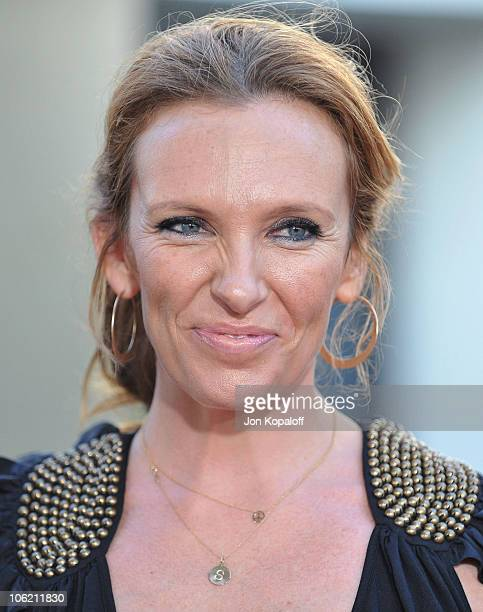 Actress Toni Collette arrives at the Los Angeles Premiere 'Funny People' at the ArcLight Hollywood on July 20 2009 in Hollywood California