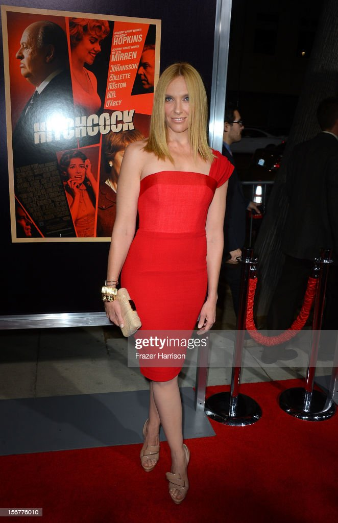 Actress Toni Collette arrives at the premiere of Fox Searchlight Pictures' 'Hitchcock' at the Academy of Motion Picture Arts and Sciences Samuel Goldwyn Theater on November 20, 2012 in Beverly Hills, California.