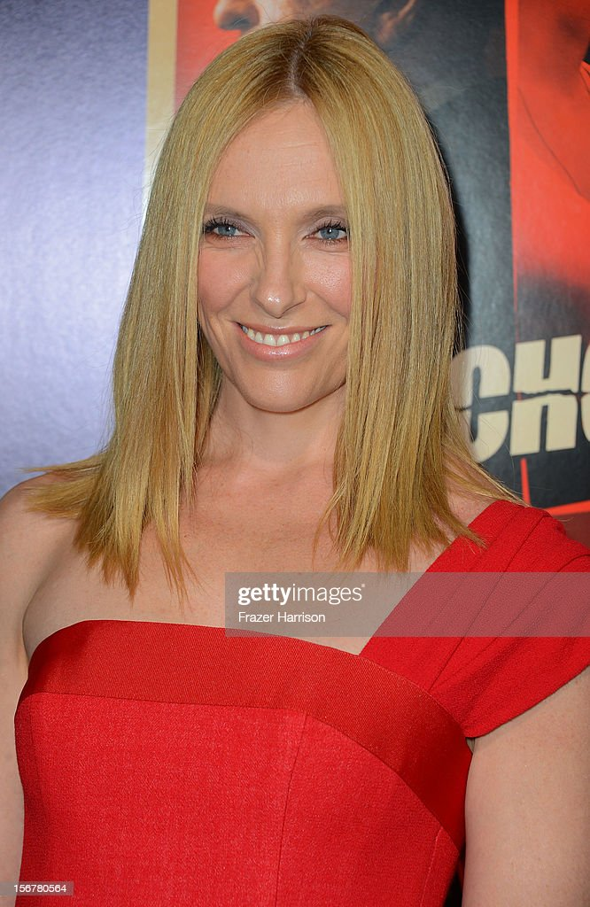 Actress Toni Collette arrives at the Premiere Of Fox Searchlight Pictures' 'Hitchcock' at AMPAS Samuel Goldwyn Theater on November 20, 2012 in Beverly Hills, California.