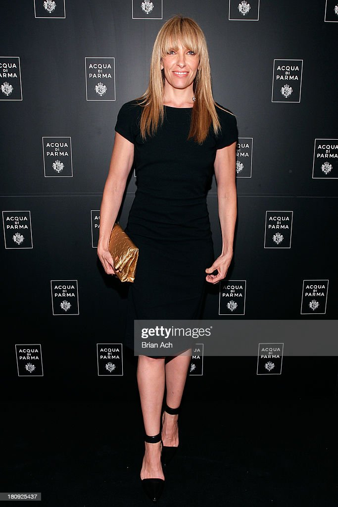 Actress <a gi-track='captionPersonalityLinkClicked' href=/galleries/search?phrase=Toni+Collette&family=editorial&specificpeople=204673 ng-click='$event.stopPropagation()'>Toni Collette</a> attends Acqua di Parma gala event: Roberto Bolle and Friends tribute to La nobilita' del Fare Giovanni Gastel photo exhibition, as part of 2013 year of Italian Culture in The US on September 17, 2013 in New York City.